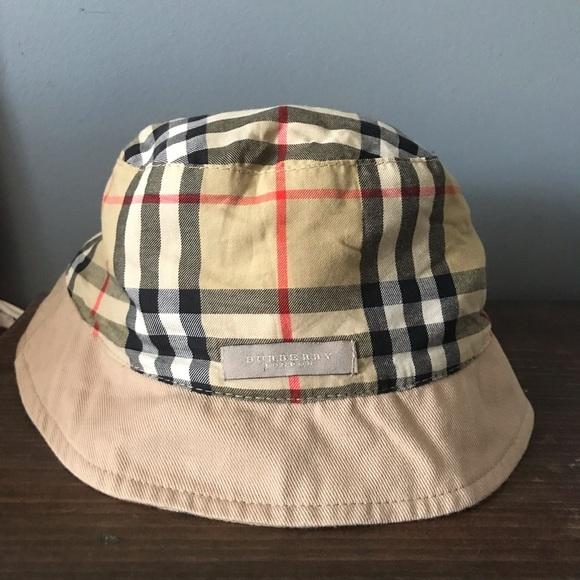 2b9836875a4 Burberry Accessories - Burberry Nova Check crusher hat
